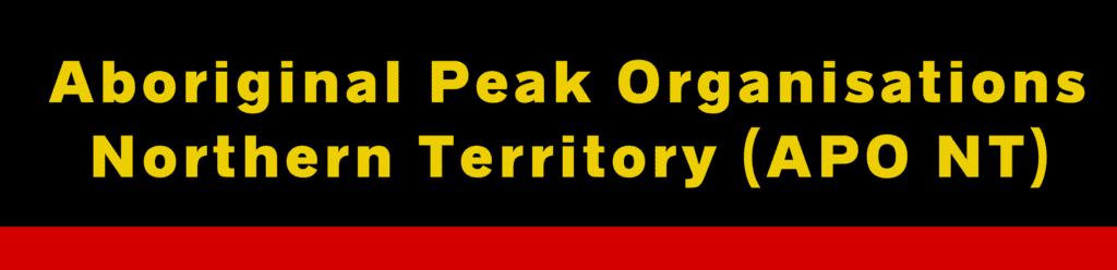 Aboriginal Peak Organisations Northern Territory (APONT) Logo