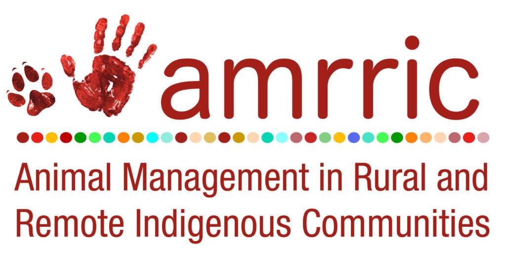 Animal Management in Rural & Remote Indigenous Communities (AMRRIC) Logo