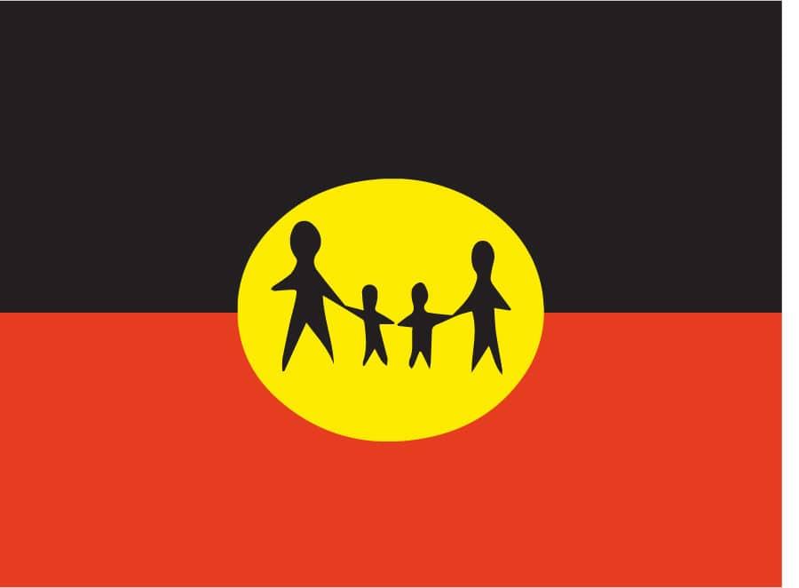 Central Australian Aboriginal Family Legal Unit (CAAFLU) Logo