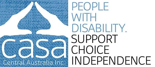 Central Australian Supported Accommodation Central Australia (CASA) Logo