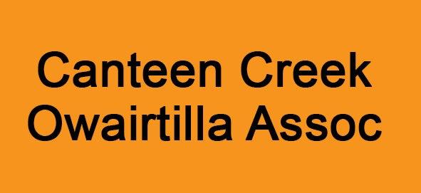 Canteen Creek Owairtilla Association Logo