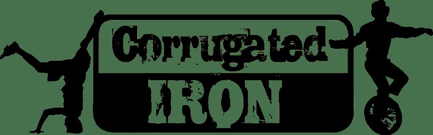 Corrugated Iron Youth Arts Logo