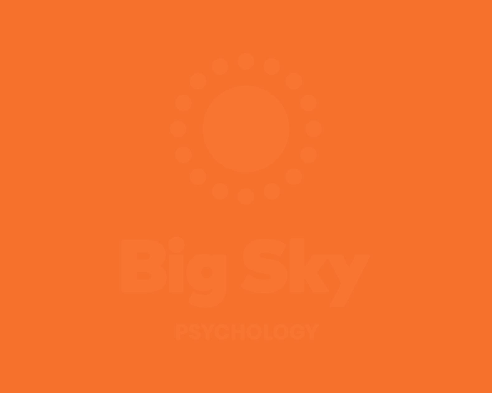Big Sky Psychology Logo