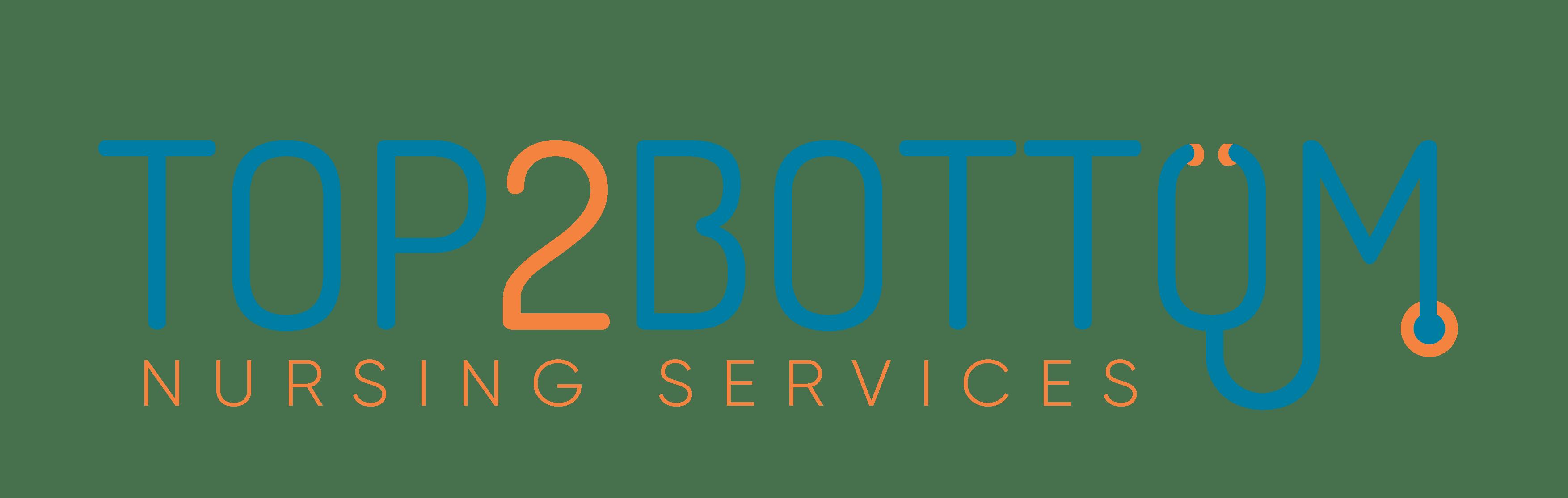 Top 2 Bottom Nursing Service Logo
